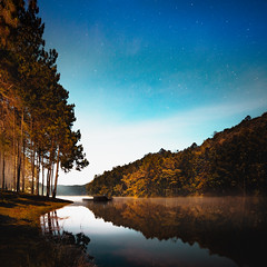 Landscape scene of forest with pond in autumn, Thailand (Patrick Foto ;)) Tags: asia autumn background beautiful beauty blue camping cloud color colorful dawn day environment evening fog forest green holiday lake landscape light mist morning mountain natural nature outdoor park peaceful reflection river scene season sky spring summer sun sunlight sunrise sunset thailand tourism tranquil travel tree vacation view wallpaper water wood tambonmokchampae changwatmaehongson th