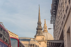Spires of Ludgate Hill, London (Gerry Lynch) Tags: cityoflondon london cathedral