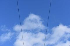 Skylines (Flexbear) Tags: sky clouds clear lines skyline calm nikond3400 nikon