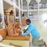 20180127 - HDH Devaprasaddas Ji Swami Visit (29)