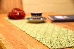 New table runner (petrOlly) Tags: object objects germany deutschland europe europa geek crochet handmade planetjune tablerunner shawl cup tea