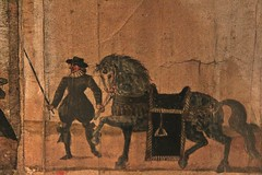 The Huntly Funeral Procession # 1 (just.Luc) Tags: paper papier horse cheval paard pferd drawing tekening dessin zeichnung man male homme hombre uomo mann nationalmuseumofscotland edinburgh edinbourgh royaumeuni verenigdkoninkrijk unitedkingdom grootbrittanië grandebretagne greatbritain scotland schotland ecosse museum museo musée museet
