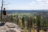WYOMING-Devils Tower8 (TravelKees) Tags: dijkmannen usa vakantie youri nationalpark devilstower view valley