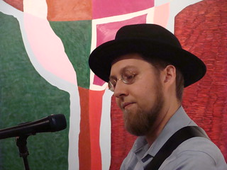 The Amish Banjo Player