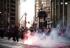 Chinese New Years Parade 2018 (louie imaging) Tags: chinese lunar new year festivity parade chinatown san francisco fireworks firecrackers smoke commencing blessing commencement