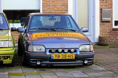 1990 Ford Escort 1.6 CLX (Dirk A.) Tags: yb38hs sidecode4 onk 1990 ford escort 16 clx