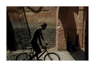 Cycling.   ( Marrakesh )
