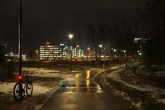 2018 Bike 180: Day 22, January 26 (olmofin) Tags: 2018bike180 fnlan espoo leppävaara säteri bicycle polkupyörä path pyörätie shared mtb 29er