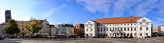 Panorama - Marktplatz Rathaus - Wismar