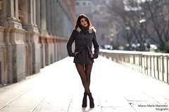 Winter beauty (view it BIG!!) (marcomariamarcolini) Tags: marcomariamarcolini beauty winter girl longlegs nikond810 nikkor85mmf14g bokeh