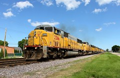 Got Engines? (Nick Brown Photography) Tags: emd train railroad railfanning locomotive sd60m up union pacific wisconsin west allis