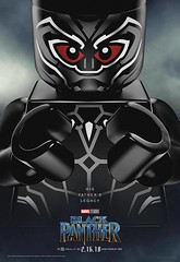 LEGO Marvel Black Panther (Pasq67) Tags: marvel poster lego pasq67 super heroes superheroes blackpanther black panther marvelstudios movieposters movie posters 2018