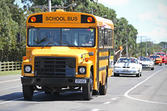 Old School Service (Paul J's) Tags: event hawera taranaki americarna vehicle bus schoolbus international