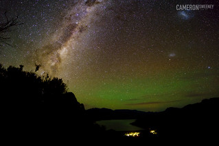 Boronia Peak Milky Way and Aurora