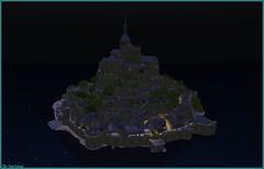 L'immortel Mont Saint-Michel (Tim Deschanel) Tags: tim deschanel sl second life exploration paysage landscape edelweiss mont saintmichel saint michel