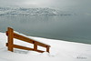 Stairs (joeinpenticton Thank you 1.7 Million + views) Tags: stairs british columbia bc joeinpenticton lake ok okanangan okanogan valley peachland mountain provincial park beach rail railing winter snow antlers regional minimalist minimalism