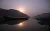 Full Moon at Dawn... (manwar2010) Tags: moon river blue explore satkosia odisha mahanadi fullmoon