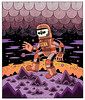 Dead Orbit (Jack Teagle) Tags: drawing deadastronaut undead zombie cosmic space sciencefiction scifi