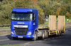 Breedon DAF XF SV16HFF on the A90, Dundee, Sep 2017 (andyflyer) Tags: breedon dafxf sv16hff a90 lorry truck hgv transport roadtransport haulage