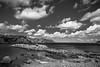 Sunny Brigus (stephgallant) Tags: monochrome blackandwhite bw black highcontrast sunshine wideangle wide clouds ocean atlantic water sunny summer brigus newfoundland avalon conceptionbay stjohns nl canon60d canon sigma sigma1020mm 1020mm