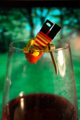 HARRRRD Thirst (simone.pelatti) Tags: lego wine pirate drink closeup red green minifigure jump sonya6000