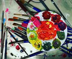 Color Wheel (Christian Montone) Tags: paint acrylic spectrum color montone christianmontone
