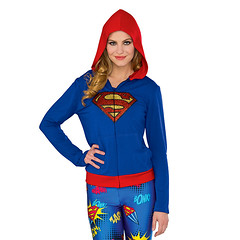 Superman Design Supergirl Sprinkles Hoodie (mywowstuff) Tags: gifts gadgets cool family friends funny shopping men women kids home