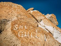 Welcome to Sheep Gulch, California (dwblakey) Tags: hike desert closeup bishop mountains monocounty wandering rockart rocks california rockpile easternsierra hiking history outdoors shepherd volcanictableland volcanictablelands exploring unitedstates us