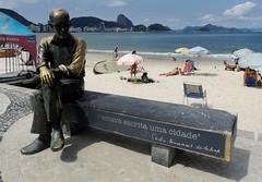 ''No mar estava escrita uma cidade'' * (Rctk caRIOca) Tags: copacabana rio de janeiro