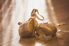 Sunbeams (BeckiGroves) Tags: 365the2018edition 3652018 day58365 27feb18 2018yip ballet shoes balletshoes
