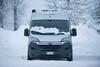 Globecar&Clever-4 ( YariGhidone ) Tags: rosso clever possl globecar van vanlife life furgone fiat ducato camper outdoor snow prali