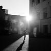 Research (Aaron Bieleck) Tags: 120film hasselblad hasselblad500cm analog 6x6 square film filmisnotdead mediumformat wlvf ohsu oregonhealthsciencesuniversity bw blackandwhite sunflare 150mmct light sun silhouette oregon pdx portland croet filmgrain research woman architecture