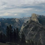 Yosemite Valley Panorama from Glacier Point 2 thumbnail