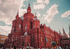 The State Historical Museum of Russia (donnicky) Tags: moscow architecture building city clouds crowd daylight history lowangleview outdoor people publicsec sightseeing sky summer travel moskva russia ru