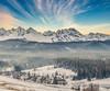 Tatry (kubaszymik) Tags: podhale zakopane poland murzasichle winter snow cold ice summit valley doubleexposure multiexpo canon glacier peaks january