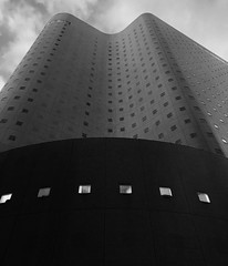 Washington Hotel, Nishishinjuku (gt223) Tags: minimalist minimalism urban city blackandwhite bw modernarchitecture architecture japan tokyo washingtonhotel nishishinjuku shinjuku