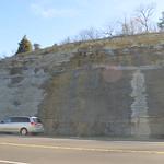 East side of the roadcut thumbnail
