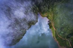 Smoking Paradise (Niroshan777) Tags: drone ariel dji phantom nature srilanka travel paradise green ceylon