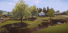 Untitled #4 (L1netty) Tags: thechineseroom playstationmobile everybodysgonetotherapture pc games gaming reshade screenshot nature outdoor color 4k videogame town cars houses road clouds green blue scenery