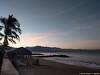 Beach Sunrise in Puerto Vallarta (David J. Greer) Tags: pacific ocean beach beachside seashore shoreline puerto vallarta mexico puertovallarta vacation resort westin skyline sunrise blue sky mountain mountains breakwater tree dawn