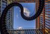 Vertigo.......... (kanaristm) Tags: vertigo munich endlessstaircase endless staircase infinitestaircase infinite olafureliasson kpmg kanaris kanarist kanaristm tkanaris tmkanaris copyright2018tmkanaris copyright2018kanaristm nikon d800e 1424mmf28 stairs clouds blue abstract