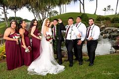 Ashley & Steffen Wedding 01:27:18 07 (JUNEAU BISCUITS) Tags: wedding hawaiianwedding weddingparty bride groom bridesmaids hawaii kapoleigolfcourse hawaiiphotographer oahu nikon
