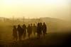 the road to Bahir dar (Neal J.Wilson) Tags: ethiopia ethiopian africa african nikon travel lego brown workers sunset dusk people road silhouette bahir dar
