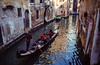 Slide copies, March 1983, Venice (alh1) Tags: agfact18film march 19831983 box 8box 84 italy venice copies film holiday slides transparencies venezia gondola canal gondolier