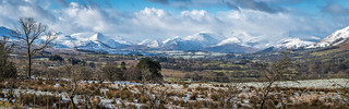 Snowy Fells Panorama