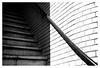 Handrail and stairs (leo.roos) Tags: portiek commonentrance handrail leuning stairs stairway staircase schaduw shadow brick noiretblanc loosduinseweg thehague denhaag a7rii staeblekata4528 paxette m39 darosa leoroos dayprime day45 dayprime2018 dyxum challenge prime primes lens lenzen brandpuntsafstand focallength fl