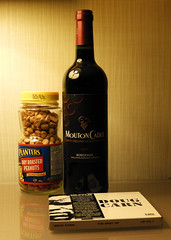 Grape Nuts (knightbefore_99) Tags: grape nuts planters dry roasted red rouge vin wine vino mouton cadet bordeaux french dougcarn cd music evening