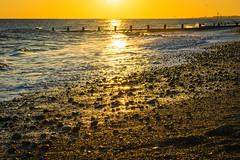 As the Sun Goes Down (Trevor Fryer) Tags: beach d3300 rustington seascape sunset sussex