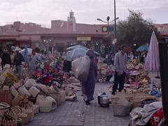 Marrakech Souk (thecuriousdead) Tags: morocco aftrica souk marrakech november 35mm film canon colourprocess oldfilm negatives documentary