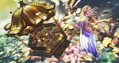 Golden (clau.dagger) Tags: eve decocrate secondlife art decor gazebo tableauvivant insol catwa maitreya sweetkajira thelookingglass tlg poseidonposes we3rp fantasy